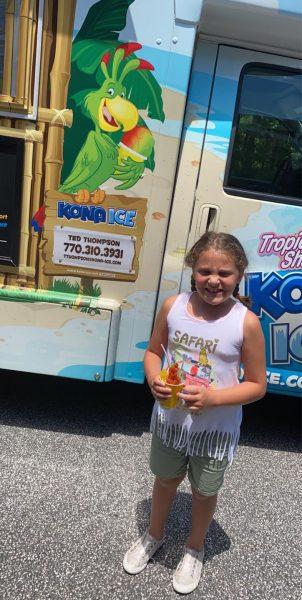 Outdoor Fun Summer Camp Kona Ice