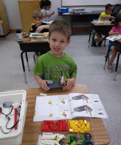 STEM Creating Robots