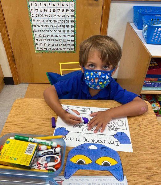 Back to School Kindergarten Johns Creek GA