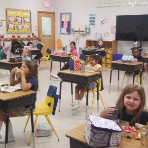 Back to School Social Distancing at McGinnis Woods Private School