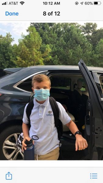 Back to School with Masks Johns Creek