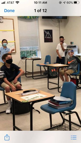 Face Shields and Masks Back to School