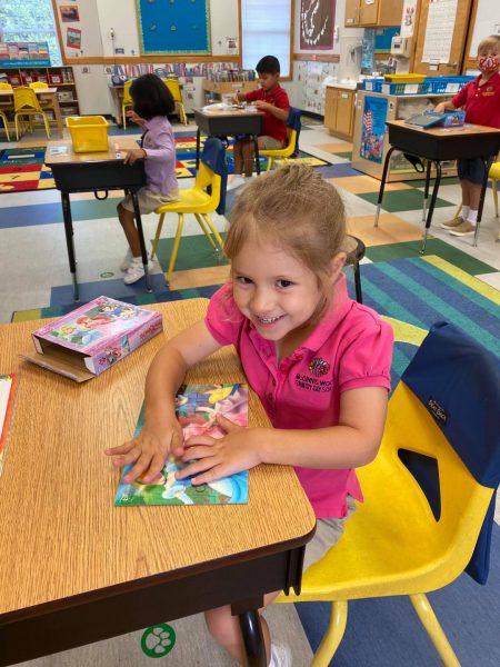 Kindergarten First Day of School Alpharetta
