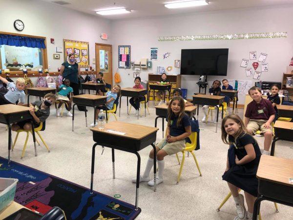 North Fulton County Social Distancing Classroom
