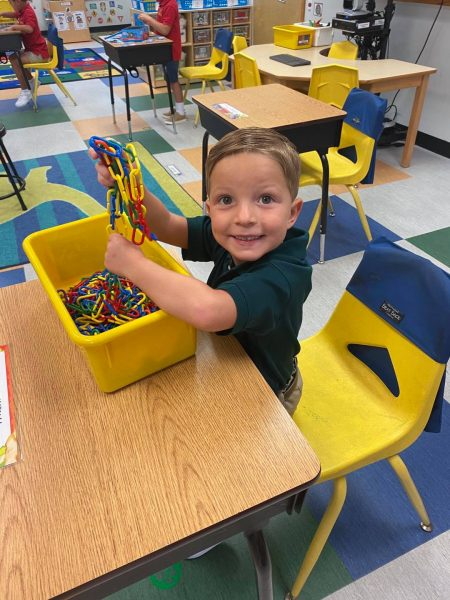 Pre K First Day of School