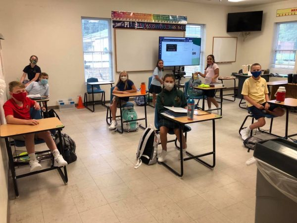 Social Distancing in the Classroom Forsyth County Private School
