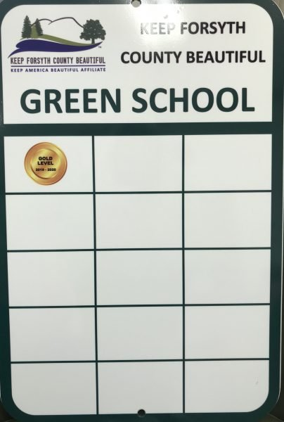 Keep Forsyth Beautiful Green School Award