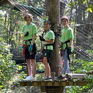 Ropes Course Outdoor Field Trip for Middle Grades